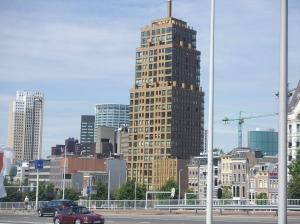 De Wijnhaeve toren in Rotterdam vandaag (foto: René Hoeflaak)