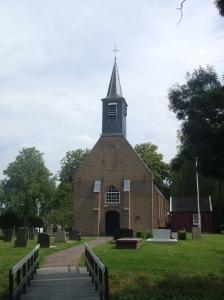 Het Pietermanskerkje in Zwijndrecht. (foto: René Hoeflaak'