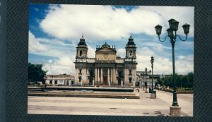 De kathedraal van Guatamala City, 30 augustus 1989. (foto: René Hoeflaak'