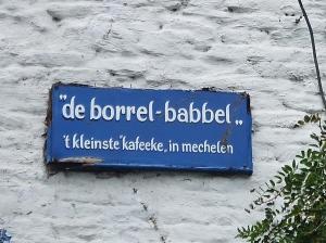 Mechelen, een stad met vele café's (foto: René Hoeflaak)