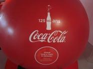 Parijs, expositie Coca Cola 125 jaar (foto: René Hoeflaak)