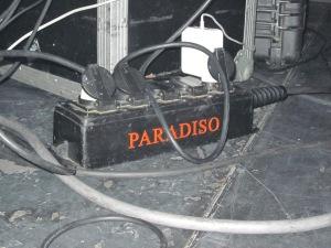 podium Paradiso (foto: René Hoeflaak)