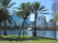 USA, Orlando, Florida: Lake Eola (foto: René Hoeflaak)