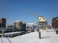Rotterdam, 4 februari 2012: Entrepothaven, Binnenhavenburg en Poortgebouw (foto: René Hoeflaak)