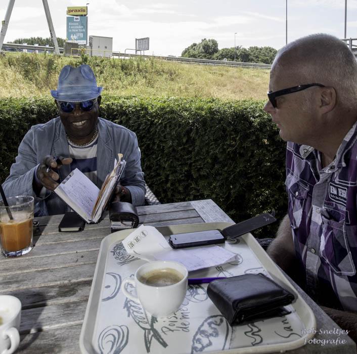 Edgar Burgos en René Hoeflaak (foto: Rob Sneltjes/www.robsneltjes.nl)