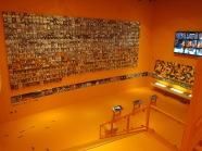 Voetbalexperience; De Oranje Hall of Fame met de 715 portretten van alle Nederlands elftal spelers (foto: René Hoeflaak)