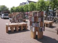 Leiden, vorige week; Beestenmarkt (foto: René Hoeflaak)