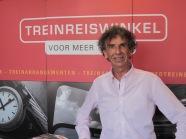 Leiden, mei 2012: Helmut Brall, directeur en oprichter van de Treinreiswinkel (foto: René Hoeflaak)