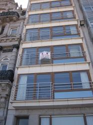 België, Oostende, appartementencomplex Residence Jane (foto: René Hoeflaak)