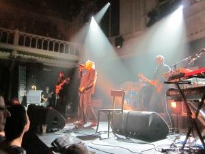 Amsterdam, Paradiso, maandagavond; Arno Hintjens (foto: René Hoeflaak)