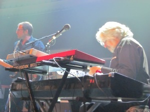 Paradiso, Arno producer en toetsenist Serge Feys (foto: René Hoeflaak)