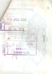 Stempel Paspoort