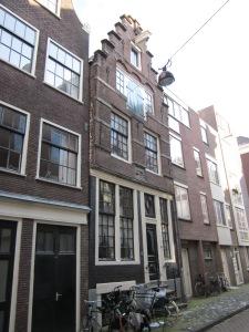 Amsterdam, vandaag. Rapenburg 73. Het voormalige woonadres van Piet Hein?? (foto: René Hoeflaak)