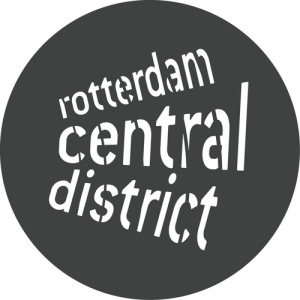 Logo Rotterdam Central District (bron:  https://twitter.com/vrcd)