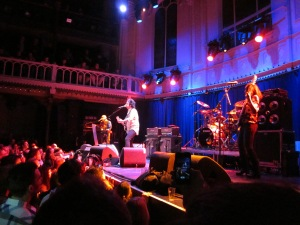 26 maart 2013, Amsterdam, Paradiso; Steve Lukather en zijn band (foto: René Hoeflaak)