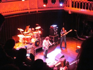 Amsterdam, Paradiso, gisteravond; Steve Lukather en band (foto: René Hoeflaak)