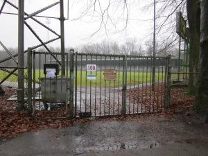 Wageningen, 9 maart 2013. Het 'oude' stadion De Wageningse Berg aan de Generaal Foulkesweg 108. (foto: René Hoeflaak)