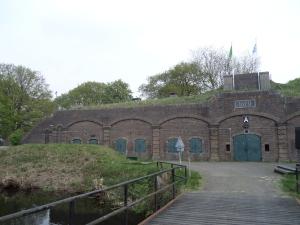 8 mei 2013: Utrecht, Fort Ruigenhoek op de Ruigenhoekse Dijk (foto: René Hoeflaak)