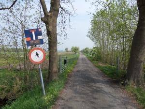 8 mei 2013: Utrecht/Groenekan. Kikkerpad/Ruigenhoekse Dijk (foto: René Hoeflaak)