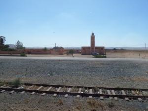 Marokko, 25 mei 2013 16.28 uur: Anderhalf uur voor aankomst in Marrakech (foto: René Hoeflaak)