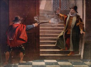 10 juli 1584: Moord op Willem van Oranje (bron: www.verledentijd.com)