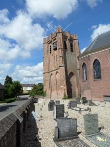 Acqouy, Gelderland,  6 augustus 2013: Nederlands-Hervormde kerk van Acqouy (foto: René Hoeflaak)