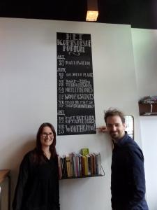 Rotterdam, Cordelie Huibregtse en Niels Eernink in Kopi Soesoe (foto: René Hoeflaak)