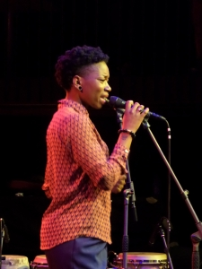 Rotterdam, Podium Grounds, 3 november 2013: Gastoptreden van Sabrina Starke op Matinee du Monde (foto: René Hoeflaak)