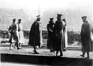 10 november 1918: Keizer Wilhelm II arriveert op station Eijsden in Zuid-Limburg (bron foto: Wikipedia, Bundes Archiv)