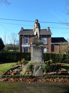 België, Berneau: Oorlogsmonument Eerste Wereldoorlog (foto: René Hoeflaak)