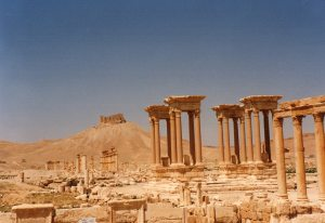 4 april 1994, Syrië: Palmyra (foto: René Hoeflaak)