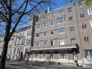 Den Haag, 16 april 2014: Lange Vijverberg, de plek van het voormalige stadslogement van Dordrecht (foto: René Hoeflaak)
