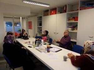 Februari 2014: Taalcoaching bij Peperlink in Rotterdam (foto: René Hoeflaak)