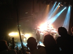 8 mei 2014: Echo & The Bunnymen op het 'oude' podium van Tivoli in Utrecht (foto: René Hoeflaak)