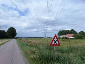 14 juni 2014: Drentseweg tussen het Overijsselse De Krim en het Drentse Elim (foto: René Hoeflaak)