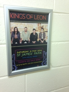 31 mei 2014: Kings of Leon in Newcastle, UK. (foto: René Hoeflaak)