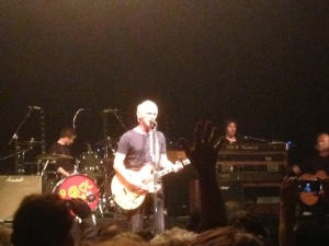 6 juni 2014:, Paul Weller in het Paard van Troje in Den Haag (Iphone foto: René Hoeflaak)