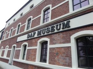 Eindhoven, 12 juli 2014: Het DAF Museum. Geopend dinsdag tot en met zondag van 10 tot 5 uur. Entree € 8,00