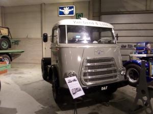 Eén van de vele DAF modellen in het DAF Museum (foto: René Hoeflaak)