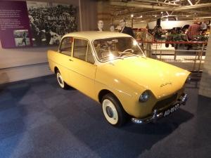 DAF Museum Eindhoven: De DAF 600 met variomatic versnelling (foto: René Hoeflaak)