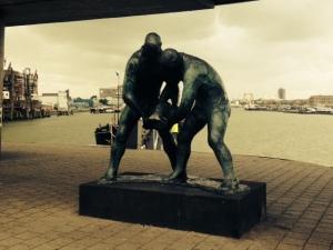 Rotterdam, 18 augustus 2014. De Dijkwerkers (foto: René Hoeflaak)