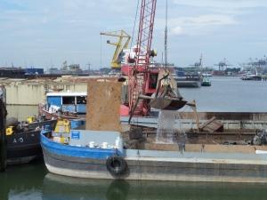 Rotterdam, 25 juli 2014: Waalhaven Oostzijde (foto: René Hoeflaak)