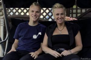 Dion Riezebos en Esther Menke, oprichters van Bleusther (foto: Patrick Roos)
