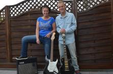 Esther Menke en Dion Riezebos (foto: Bluesther)
