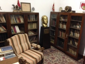 De voormalige werkkamer van vice-president Dr. Küçük (foto: René Hoeflaak)