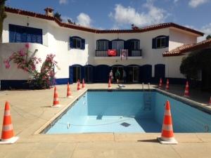 September 2014, Noord-Cyprus: het Blauwe Huis (foto: René Hoeflaak)