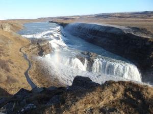 Ijsland: Gullfoss waterval (foto: René Hoeflaak)