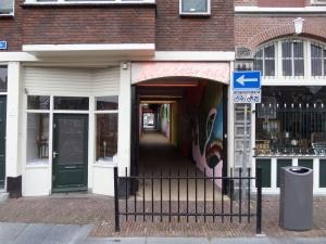 Rotterdam, december 2014: Tovertunnel, ingang Aelbrechtskolk (foto: René Hoeflaak)