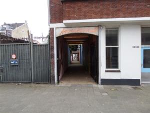 Rotterdam: Tovertunnel uitgang zijde De Schans (foto: René Hoeflaak)