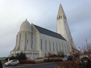 Reykjavik, 25 oktober 2014: Hallgrímskirkja (foto: René Hoeflaak)